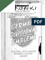 German Divisional Emblems (1944)