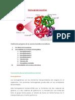 Hemoglobinopatías