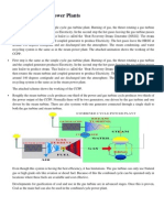 Combined Cycle Power Plants and Heat Recovery Generation System