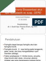Faringitis Kronis Eksaserbasi Akut Tipe Hiperplastik Ec Susp (VIVIA)