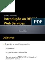 Introdução ao RESTful Web Services
