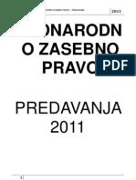 predavanja MZP 2011