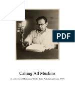 Calling All Muslims - Radio Broadcasts of Muhammad Asad.