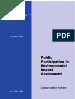 Public Participation in EIA