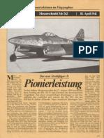 FlugRevue - Messerschmitt Me 262