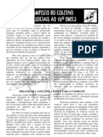 Manifesto do LutaSociais ao 28° ENECS