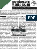 Manifesto Ao XXVI ENECS-2011