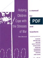 Helping Children Cope With the Stresses of War