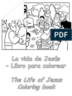 La Vida de Jesús para colorear - Life of Jesus Coloring Book