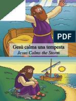 Gesù calma una tempesta - Jesus Calms a Storm