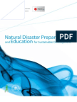 Natural Disaster Preparedness and Education for Sustainable Development