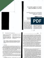 A NATUREZA JURIDICA DA FUNÇÃO PUBLICA NO BRASIL E NA ITALIA