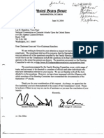 DM B3 Families Fdr- Letter From Dodd and Lieberman Re Constituent Request for Familiy Steering Committee Questions and Commission Answers to Be Included in Final Report 288