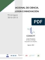 Plan Nacional de Ciencia y Tecnología - Nicaragua
