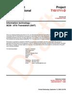 SCSI ATA Translation