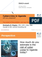 ISACA cyber Crime in Uganda