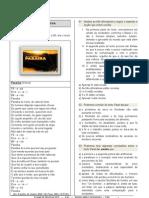 Caderno de Questoes Exame de Selecao 2012 Integrado