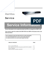 PHILIPS-Service Information Dvp3454k