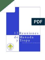 12 Reuniones de Manada y Tropa