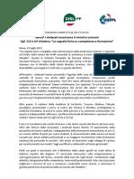 2013-07-23 Cgil, Cisl e Uil Incontro Ministro Sanita