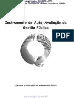 Manual de Auto Avaliacao Na Gestao Publica