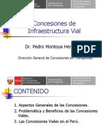3 Concesiones de Infraestructura Vial