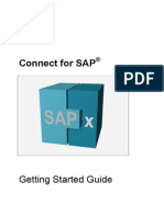 Connect for SAP Getting Started