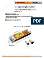 Surge Protector - Installation Instruction Type-PS Orange Series (http://shop.acdc-dcac.eu/)