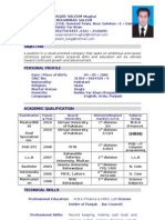 Waqar Saleem CV New