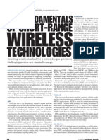 The Fundamentals of Short-Range Wireless Technology