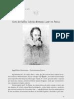 Carta de Galileu a Liceti
