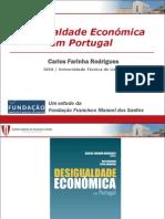 Desigualdade Económica Portugal Apresent