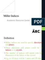 Miller Indices (1)