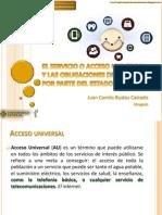 El Servicio Universal