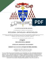 Apostolic Lines of Tau Joannes I Eveque de Philadelphia