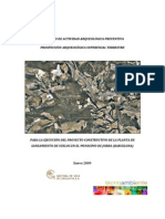 Pb Jor50709 Estudi Arqueologic Rev0