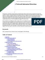 Survey of Current Network Intrusion Detection Techniques
