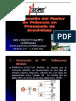 Correccion Del Fp Con Armonicas-Varmex