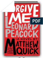 Forgive Me, Leonard Peacock by Matthew Quick (SAMPLE)