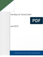 Role Actuary En