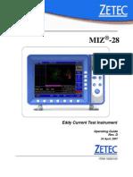MIZ-28 OPERATING GUIDE (180 - 10020153 - 1 - D) - 1
