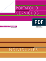 Portafolio Servicios Egresados 2013