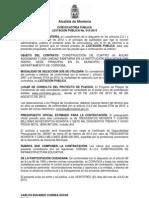 Convocatoria LP 015 2013