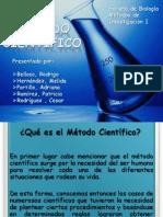 Método Cientifico, Presentacion Metodos de Inestg. I