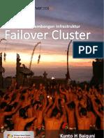 Membangun Cluster Dengan Windows Server 2008 R2
