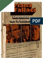 Fallaci, Oriana - Entrevista Con La Historia