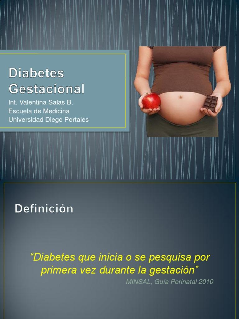 diabetes gestacional marion