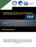Rinda Cahyana - Software Gratis Untuk Belajar