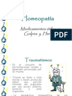 Traumatismos y Homeopatia