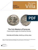 Coin Masters of Syracuse
